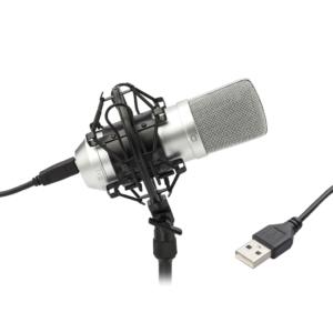 TIE Condenser Mic USB (silver)